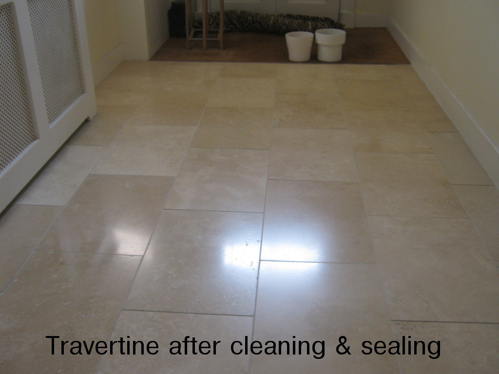 West of scotland tile cleaning services tile cleaningrepair and travertine floor tiles in a hallway dailygadgetfo Images